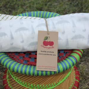 Soft Natural Three Layer Cotton Blanket
