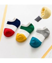 Super Soft Organic Cotton Boys Socks Pack Of 3- Size 0-6 Months