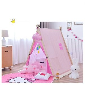 Pink Charm Triangle Tent