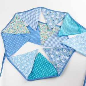 Blue Flag Garland – Handcrafted