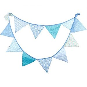 Blue Flag Garland – Handcrafted