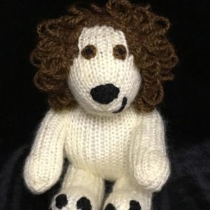 Hand Knitted Puppy