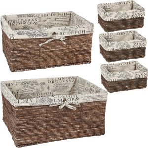 Multi Storage Basket Set of 5