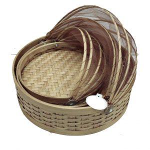 Food Storing Cover Basket – 3 pcs Set