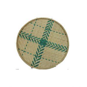 Bamboo Woven Flat Tray