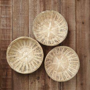 Bamboo Tray 10 pcs set