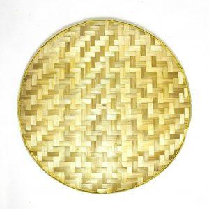Bamboo Basket Trays 10 Pcs Set