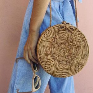 bamboo purse women