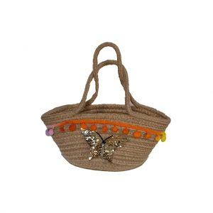 Small Handbag Jute