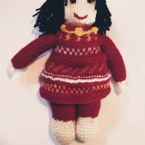 Knitted Doll – Jilly