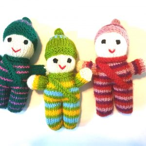 Hand Knitted Tombliboos