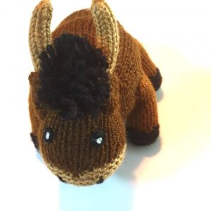 Hand Knitted Bison