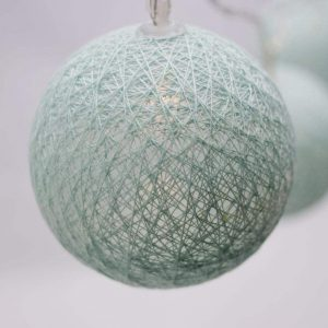 LED Cotton Thread Decoration Lights – Blue